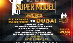 Next  Rated Super Model Competition 2018 - Registration Ongoing